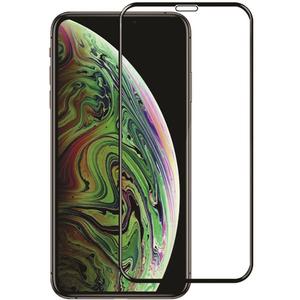 Folie Tempered Glass pentru iPhone Xs, SMART PROTECTION, fulldisplay, negru