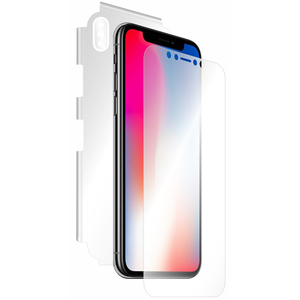 Folie protectie pentru Apple iPhone X, SMART PROTECTION, fullbody, polimer, transparent