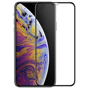 Folie sticla securizata 3D pentru iPhone Xs Max TELLUR TLL145047, negru