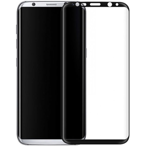 Folie Tempered Glass 3D TELLUR TLL145205 pentru Samsung Galaxy S8, Negru