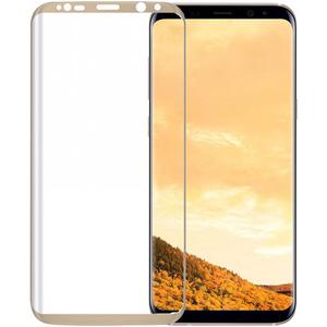 Folie Tempered Glass pentru Samsung Galaxy S8, TELLUR TLL145215, auriu