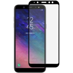 Folie sticla securizata full cover pentru Samsung A6 (2018), TELLUR TLL145435, negru
