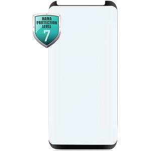 Folie Tempered Glass pentru Samsung Galaxy S9+, HAMA 178993, negru