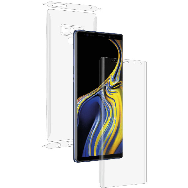 d1db3293cac Folie protectie pentru Samsung Note 9, SMART PROTECTION, fullbody, polimer,  transparent