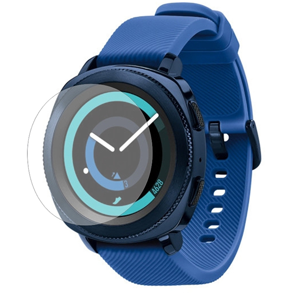 Folie protectie pentru Samsung Gear Sport, SMART PROTECTION, display, 2 folii incluse, polimer, transparent