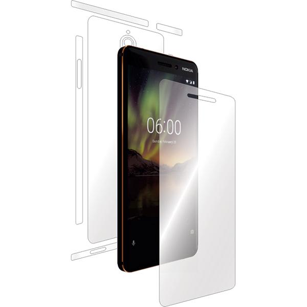 Folie protectie pentru Nokia 6.1 (2018), SMART PROTECTION, fullbody, polimer, transparent