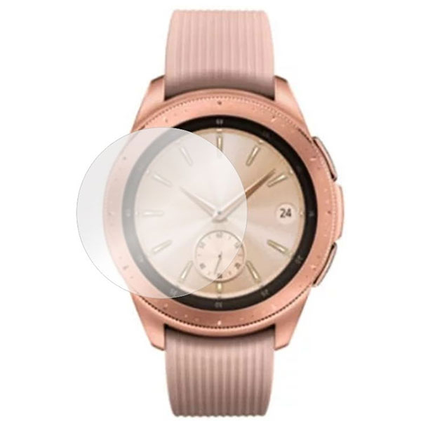Folie protectie pentru Samsung Galaxy Watch 42mm, SMART PROTECTION, display, 2 folii incluse, polimer, transparent