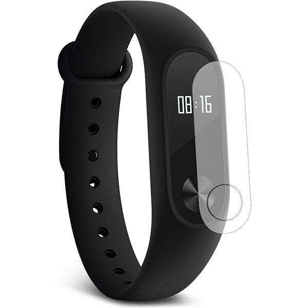Folie protectie pentru Smartband Fitness Xiaomi Mi Band 2, SMART PROTECTION, display, 2 folii incluse, polimer, transparent