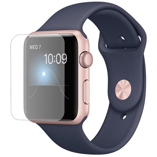 Folie protectie pentru Apple Watch Series 2 42mm, SMART PROTECTION, display, 2 folii incluse, polimer, transparent