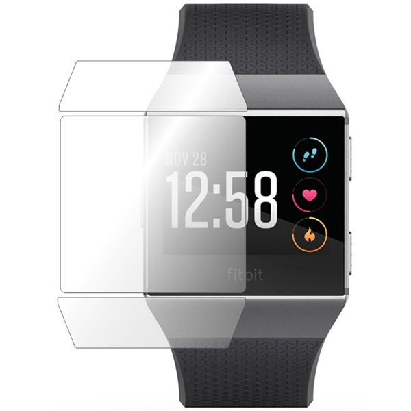 Folie protectie pentru FitBit Ionic, SMART PROTECTION, display, 2 folii incluse, polimer, transparent