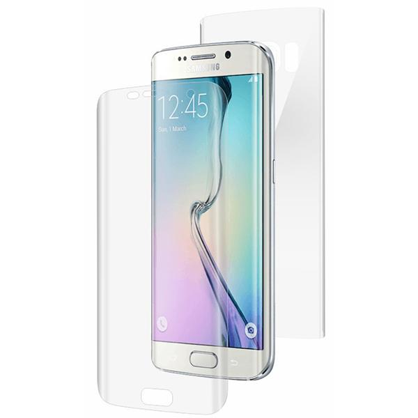 Folie de protectie SMART PROTECTION pentru Samsung Galaxy S6 Edge, fullbody