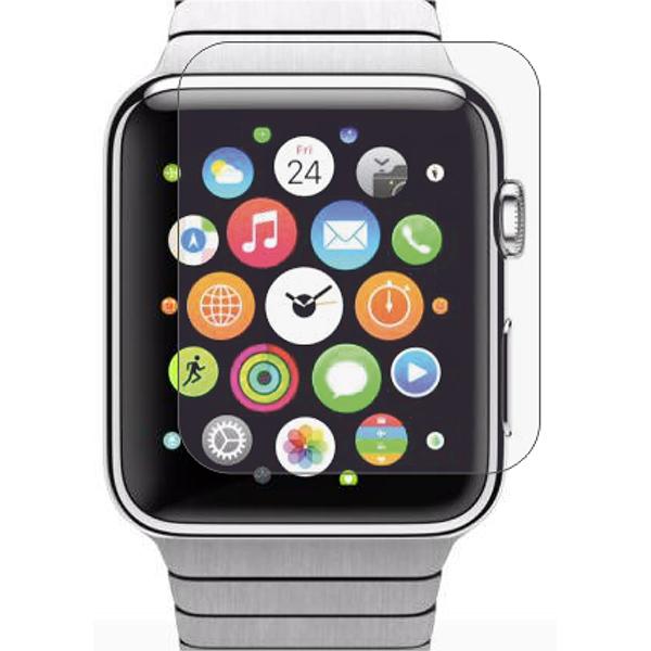 Folie protectie pentru Apple Watch 42mm, SMART PROTECTION, display, 2 folii incluse, polimer, transparent
