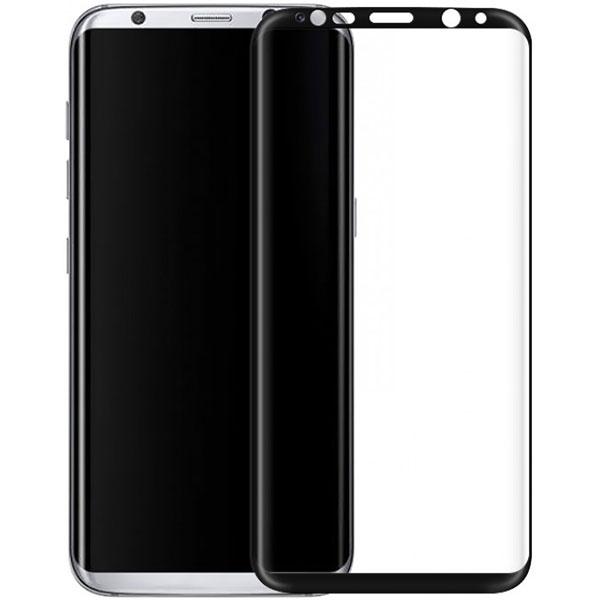 Folie Tempered Glass 3D TELLUR TLL145225 pentru Samsung Galaxy S8+, Negru