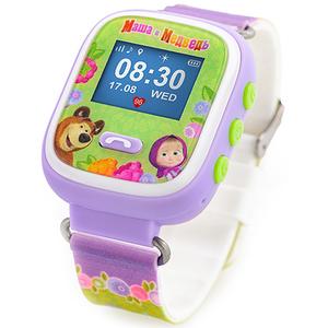 Ceas inteligent cu GPS pentru copii AGU Masha and the Bear M1