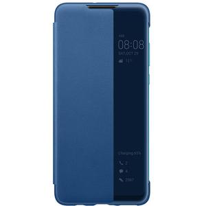 Husa Smart View Cover pentru HUAWEI P30 Lite, 51993077, albastru