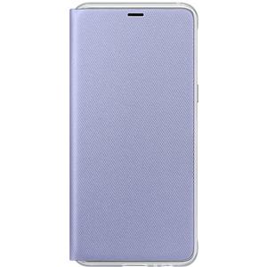 Husa Neon Flip Cover pentru SAMSUNG Galaxy A8, EF-FA530PVEGWW, Neon Orchid Gray