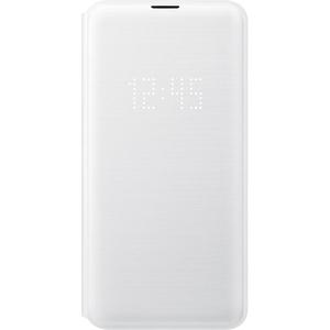 Husa Flip Led View pentru SAMSUNG Galaxy S10e, EF-NG970PWEGWW, alb