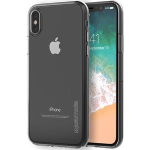 Carcasa pentru iPhone X, PROMATE Lucent-X, silicon, transparent