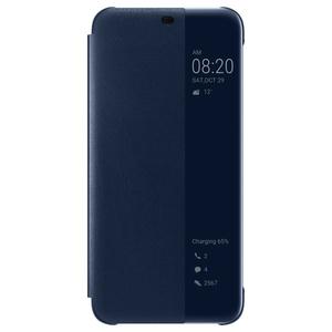 Husa Smart View Cover pentru HUAWEI Mate 20 Lite 51992654, albastru