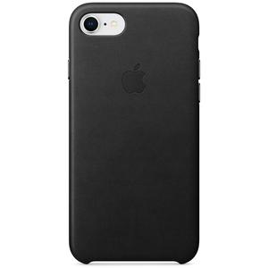 Carcasa pentru APPLE iPhone 8/7, MQH92ZM/A, piele, Black