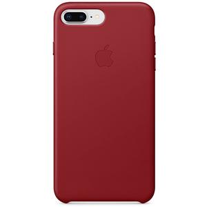 Carcasa pentru APPLE iPhone 8 Plus/7 Plus, MQHN2ZM/A, piele, Red
