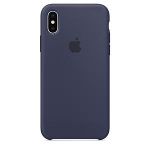 Carcasa pentru APPLE iPhone X, MQT32ZM/A, silicon, Blue