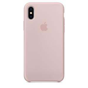Carcasa pentru APPLE iPhone X, MQT62ZM/A, silicon, Pink Sand