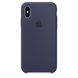 Carcasa pentru APPLE iPhone Xs, MRW92ZM/A, silicon, Midnight Blue