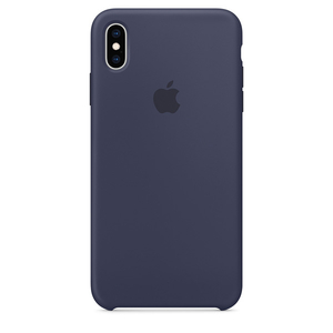 Carcasa pentru APPLE iPhone Xs Max, MRWG2ZM/A, silicon, Midnight Blue