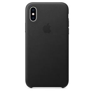 Carcasa pentru APPLE iPhone Xs, MRWM2ZM/A, piele, Black