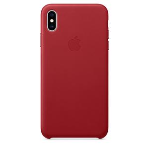 Carcasa pentru APPLE iPhone Xs Max, MRWQ2ZM/A, piele, (Product) Red