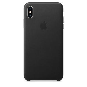 Carcasa pentru APPLE iPhone Xs Max, MRWT2ZM/A, piele, Black