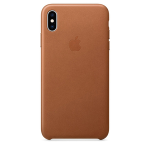 Carcasa pentru APPLE iPhone Xs Max, MRWV2ZM/A, piele, Brown