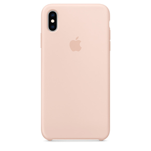 Carcasa pentru APPLE iPhone Xs Max, MTFD2ZM/A, silicon, Pink Sand