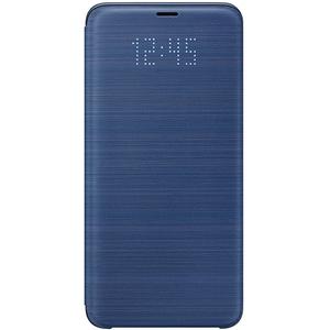 Husa Flip Led View pentru SAMSUNG Galaxy S9 Plus, EF-NG965PLEGWW, Blue