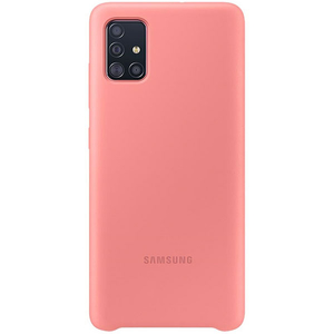 Carcasa pentru SAMSUNG Galaxy A51, EF-PA515TPEGEU, silicon, roz