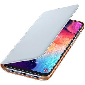 Husa Flip Walet pentru SAMSUNG Galaxy A50 EF-WA505PWEGWW, alb