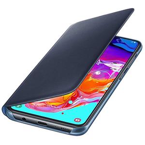 Husa Flip Walet pentru SAMSUNG Galaxy A70 EF-WA705PBEGWW, negru