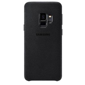 Carcasa pentru SAMSUNG Galaxy S9, EF-XG960ABEGWW, alcantara, Black