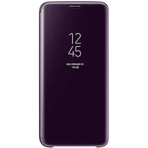 Husa Clear View Standing pentru SAMSUNG Galaxy S9, EF-ZG960CVEGWW, Purple
