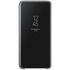 Husa Clear View Standing pentru SAMSUNG Galaxy S9 Plus, EF-ZG965CBEGWW, Black