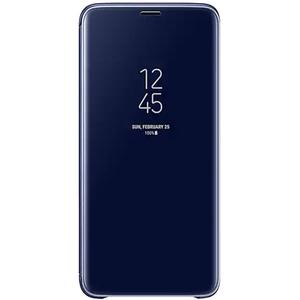 Husa Clear View Standing pentru SAMSUNG Galaxy S9 Plus, EF-ZG965CLEGWW, Blue