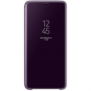 Husa Clear View Standing pentru SAMSUNG Galaxy S9 Plus, EF-ZG965CVEGWW, Purple