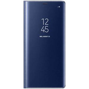 Husa Clear View pentru Galaxy Note 8,  SAMSUNG EF-ZN950CNEGWW, Deep Blue