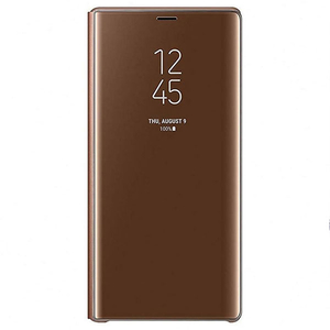 Husa Clear View Standing pentru SAMSUNG Galaxy Note 9 EF-ZN960CAEGWW, Brown
