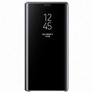 Husa Clear View Standing pentru SAMSUNG Galaxy Note 9, EF-ZN960CBEGWW, Black