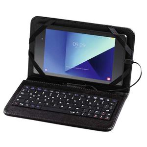 """Husa Flip Cover cu tastatura pentru tableta 7"""", HAMA U8182500, Negru"""