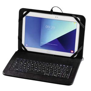 """Husa Flip Cover cu tastatura pentru tableta 10.1"""", HAMA U8182501, Negru"""