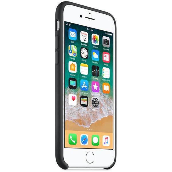 Carcasa pentru APPLE iPhone 8/7, MQGK2ZM/A, silicon, Black