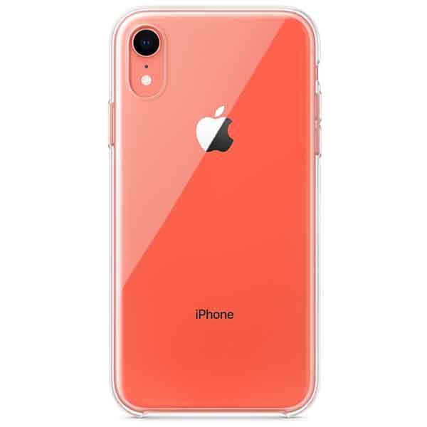 Carcasa pentru APPLE iPhone Xr, MRW62ZM/A, silicon, transparent